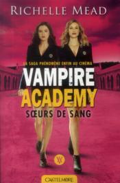 Vampire academy T.1 ; soeurs de sang - Couverture - Format classique