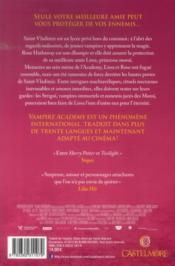 Vampire academy T.1 ; soeurs de sang - 4ème de couverture - Format classique