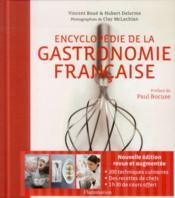 Encyclopédie de la gastronomie francaise - Couverture - Format classique