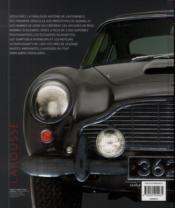 1200 voitures de légende - 4ème de couverture - Format classique