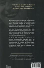André Bourvil ; l'inoubliable - 4ème de couverture - Format classique