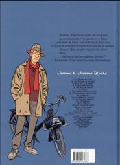 Jérôme K. Jérôme Bloche T.25 ; Aïna - 4ème de couverture - Format classique