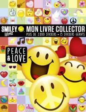 Ma vie en smiley ; mon livre collector peace & love - Couverture - Format classique