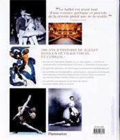 Ballet ; une histoire illustrée - 4ème de couverture - Format classique