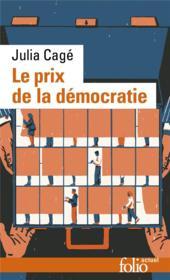 Le prix de la démocratie - Couverture - Format classique
