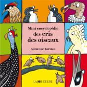 Mini encyclopédie des cris des oiseaux - Couverture - Format classique