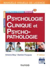 Psychologie clinique et psychopathologie (4e édition) - Couverture - Format classique