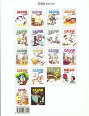 Calvin et Hobbes T.7 ; que fait la police ? - 4ème de couverture - Format classique