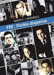 Fbi Portés Disparus - Saison 3 - Couverture - Format classique