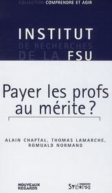 Payer les profs au mérite ? - Intérieur - Format classique