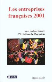 Entreprises francaises 2001 - Intérieur - Format classique