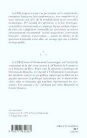 Entreprises francaises 2001 - 4ème de couverture - Format classique