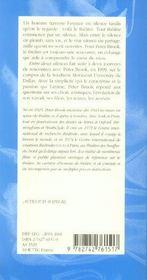 Entre Deux Silences - 4ème de couverture - Format classique