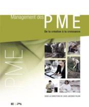 Management Des Pme - Couverture - Format classique