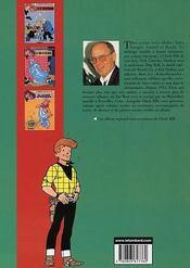 Chick Bill ; intégrale t.13 - 4ème de couverture - Format classique
