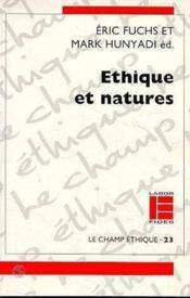 Ethique et natures - Couverture - Format classique