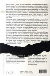 Courbet Face A La Caricature - 4ème de couverture - Format classique