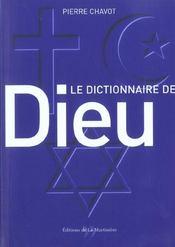 Dictionnaire De Dieu - Intérieur - Format classique