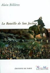 Bataille De San Jacinto - Couverture - Format classique