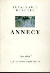 Annecy - Couverture - Format classique
