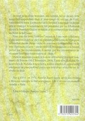 Exils - 4ème de couverture - Format classique