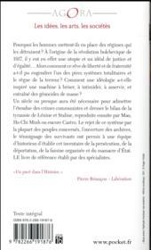 Le livre noir du communisme ; crime, terreur, répression - 4ème de couverture - Format classique