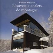 Nouveaux châlets de montagne - Couverture - Format classique