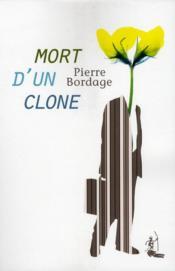 Mort d'un clone - Couverture - Format classique