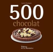 500 chocolat - Couverture - Format classique