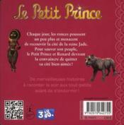 Le petit prince t.4 ; la cité de jade - 4ème de couverture - Format classique