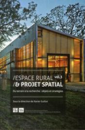 Espace Rural Et Projet Spatial 3 - Couverture - Format classique