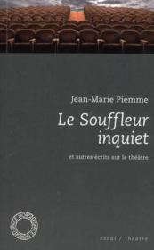 Le souffleur inquiet - Couverture - Format classique