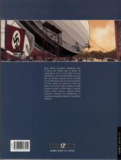 Hindenburg T.1 ; la menace d'un crépuscule - 4ème de couverture - Format classique
