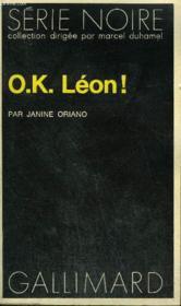 Collection : Serie Noire N° 1531 Ok Leon ! - Couverture - Format classique