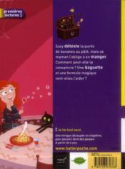 SOS sorcière ; la baguette farceuse - 4ème de couverture - Format classique