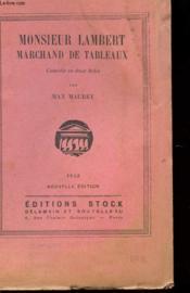 Monsieur Lambert - Marchand De Tableaux - Couverture - Format classique