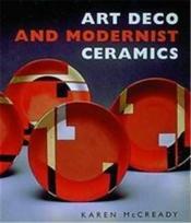 Art deco and modernist ceramics (paperback) /anglais - Couverture - Format classique