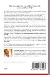 Follett un management au service de la société - 4ème de couverture - Format classique