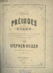 Onze Preludes Pour Piano - N°2 : Arabesque. - Couverture - Format classique