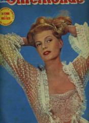 CINEMONDE - 20e ANNEE - N° 931 - RITA HAYWORTH REVIENT - Couverture - Format classique