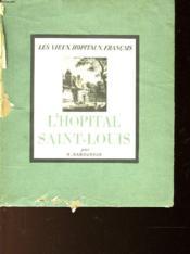 L'Hopital Saint-Louis - Couverture - Format classique