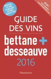 Guide des vins 2015 bettane et desseauve - Couverture - Format classique