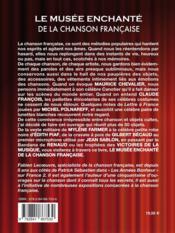 Le musée enchanté de la chanson française - 4ème de couverture - Format classique