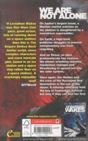 Caliban's war t.2 ; expanse - 4ème de couverture - Format classique