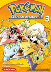 Pokémon ; la grande aventure T.3 - Couverture - Format classique