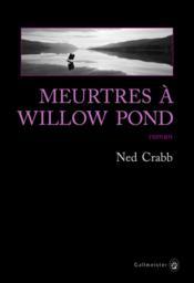 Meurtres à Willow Pond - Couverture - Format classique