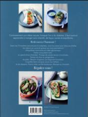 Diabète, cuisine plaisir ; 75 recettes savoureuses et adaptées - 4ème de couverture - Format classique