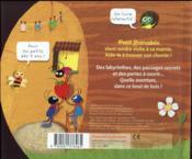 La grande aventure de petit scarabée - 4ème de couverture - Format classique
