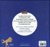 Captain Roger ; mission espace - 4ème de couverture - Format classique