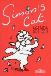 Simon's cat ; agenda (édition 2018/2019) - Couverture - Format classique